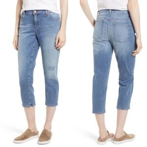 Eileen Fisher Crop Tapered Jeans Size 4
